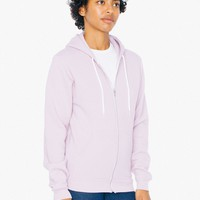 Unisex Flex Fleece Zip Hoodie | American Apparel