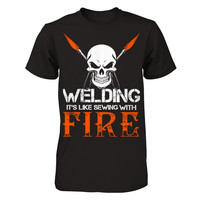 Welding - It's Like Sewing With Fire