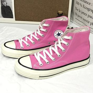 Converse Fashion Casual Women Men Canvas Flats Sneakers Sport Shoes Pink G