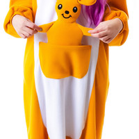 Sazac KIgurumi Kangaroo Orange One
