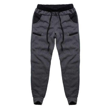 Mens Male Trousers Mens Harem Pants Loose Casuallined Track Pants Man Sweatpants Large Size 3Xl