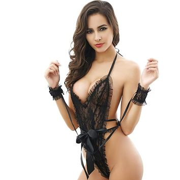 Kollmert Fashion Seductive Women's G-string Teddy Underwear Bodysuit Lace Nightwear