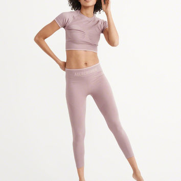 Womens Active Cropped Top | Womens Tops | Abercrombie.com