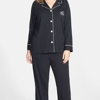 Plus Size Women's Lauren Ralph Lauren Knit Pajamas (Online Only)