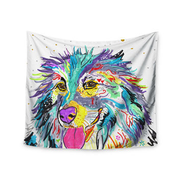 """Rebecca Fischer """"Dally"""" Wall Tapestry"""