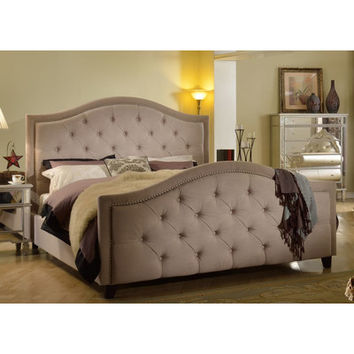 BestMasterFurniture Upholstered Panel Bed