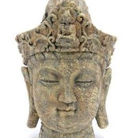 Buddha Head Aquarium Ornament