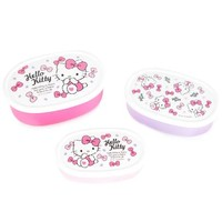 Hello Kitty Snack Case Set: Bows Forever Collection