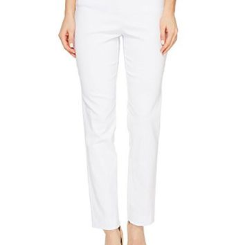 Krazy Larry White Pull On Ankle Pants