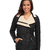 Sam Edelman Rylie Quilted Jacket w/ Sherpa Inner