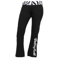 Casual Wear | Zebra Volleyball Yoga Pant