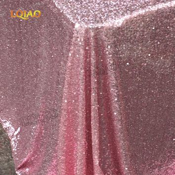 Sparkly Pink Gold/Silver 120x200cm Sequin Glamorous Tablecloth/Fabric For  Wedding Party Table Decorations