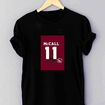 Teen Wolf McCALL 11 Lacrosse Jersey - T Shirt for man shirt, woman shirt XS / S / M / L / XL / 2XL / 3XL**