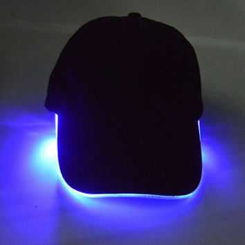 Unique LED Light Up Baseball Cap Gift