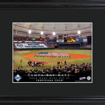 Personalized MLB Stadium Print - Rays