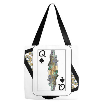 Play Your Hand...Queen Spade No. 3 Everything Tote Bag