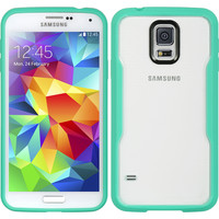 DW Lucent Fusion Candy Case for Samsung Galaxy S5 - Teal Green/Clear
