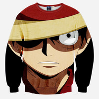 Monkey D Luffy Pullover