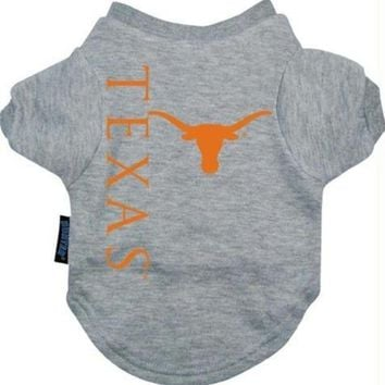 CREYON Texas Longhorns Dog Tee Shirt