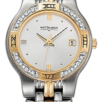 Wittnauer Laureate Collection Women's Diamond Bracelet Watch 12R12