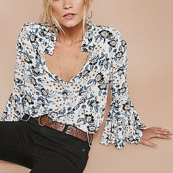 Free People Magic Mystery Printed Tunic