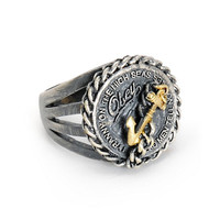Obey High Seas Silver Ring