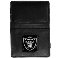 NFL - Oakland Raiders Leather Jacob's Ladder Wallet