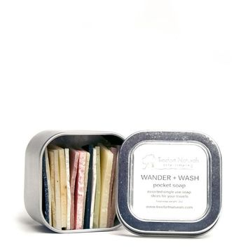 Wander & Wash Travel Pocket Soap Tin