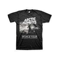 Arctic Monkeys Tour Tshirt Men Woman, Color Black, Size S - 2XL