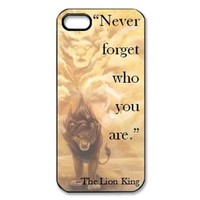 The Lion King Hard Plastic Back Cover Case for iphone 5