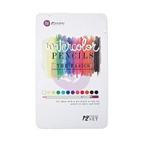 Prima Mixed Media Watercolor Pencils 12/Pkg-The Basics