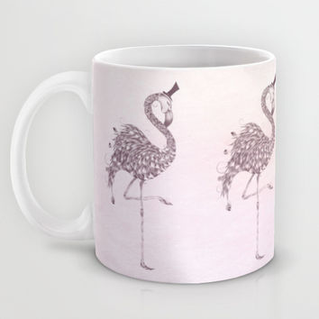 Flamingo Mug by LouJah