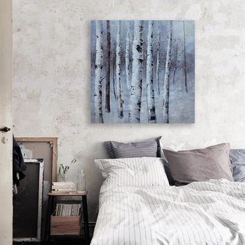 Un Framed Abstract Trees Handed Painting Printed painting Oil Painting By Numbers Home Decor Wall Art Picture For Living Room