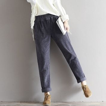 Retro Corduroy Trouser