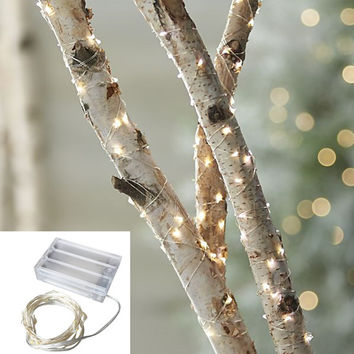 10 piece 2M 20 led 3 AA Battery Powered Decoration LED Copper Wire Fairy String Lights Lamps for Christmas Holiday Wedding Party