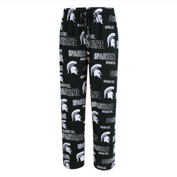 Michigan State Spartans Mens Sweep Printed Pajama Pants By Concepts Sport