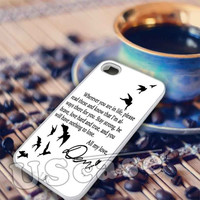 Demi Lovato Quotes  -  iPhone 6, iPhone 6+, samsung note 4, samsung note 3,iPhone 5C Case, iPhone 5/5S Case, iPhone 4/4S Case, Durable Hard Case