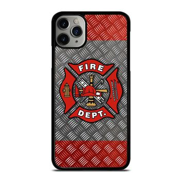 FIREFIGHTER FIREMAN PLATE iPhone Case Cover