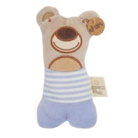 Olives and Pickles Organic Bear Rattle