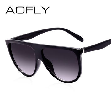 AOFLY Fashion Sunglasses Women Brand Designer Luxury Sun glasses Female Gradient Glasses For Ladies Gafas Oculos De Sol UV400