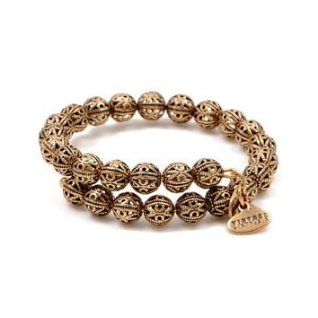 Alex and Ani Kingston Wrap - Russian Gold