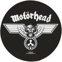 Motorhead Men's Back Patch Black
