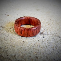 Men's Custom Wood Ring Bubinga