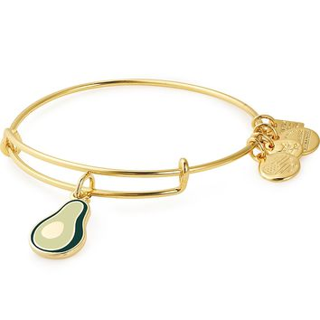 Avocado Charm Bangle | Green Beetz