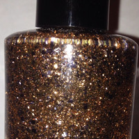 Sandstone  Handmade Glitter Nail Polish by Backwoodsnails on Etsy