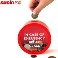 Amazon.com: Suck UK Emergency Money Box: Home & Kitchen