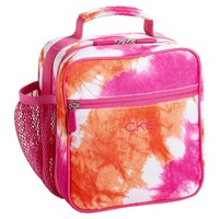 Gear-Up Pink Tie-Dye Classic Lunch With Mesh Side Pocket
