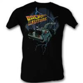 Back to the Future DeLorean Slim T-Shirt