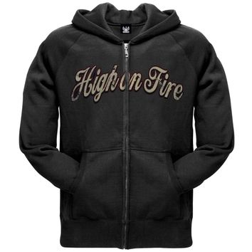 High On Fire - Peace Pipe Zip Hoodie