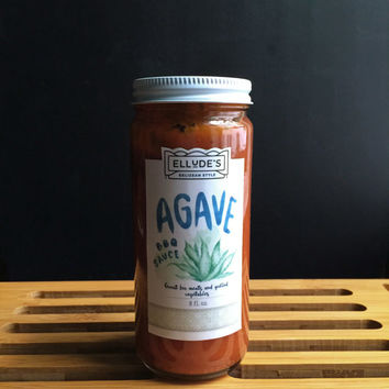 Agave BBQ Sauce | Sweet Heat | Hot Hot Sauce | Best Grilling Spices | Caribbean Flavor | Vegan Friendly | Edible Gift